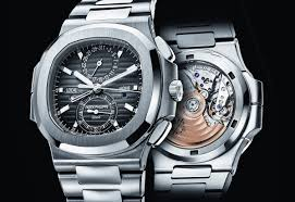 replica watch of patek-philippe-nautilus-travel-time-chronograph-1