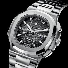replica watch of patek-philippe-nautilus-travel-time-chronograph