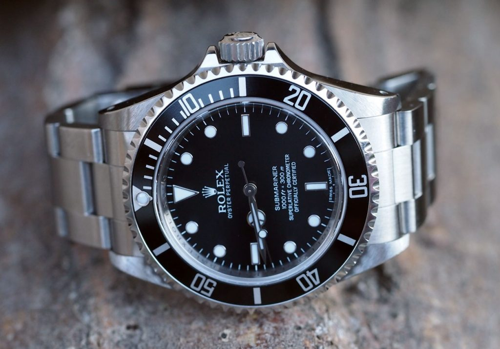 Rolex Submariner 116610LN Black Movement Replica