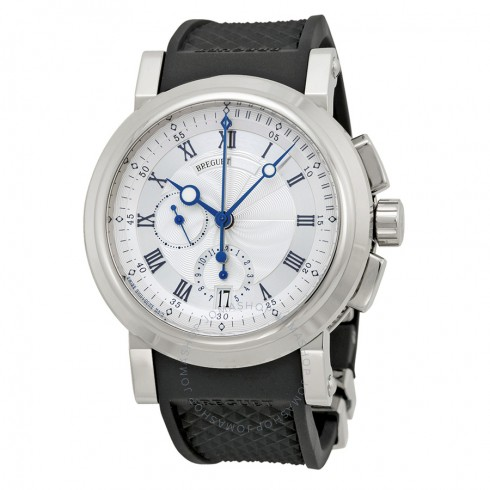 replica-breguet-marine-silver-dial-black-rubber-18kt-white-gold-mens-watch-5827bb125zu-5827bb125zu