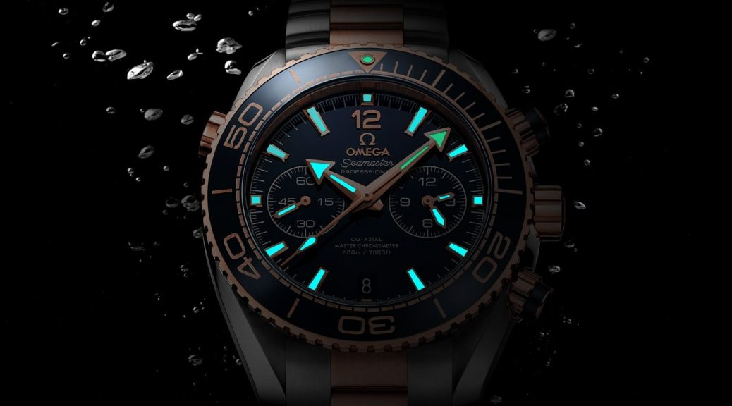 Replica Omega Seamaster Planet Ocean 600M night