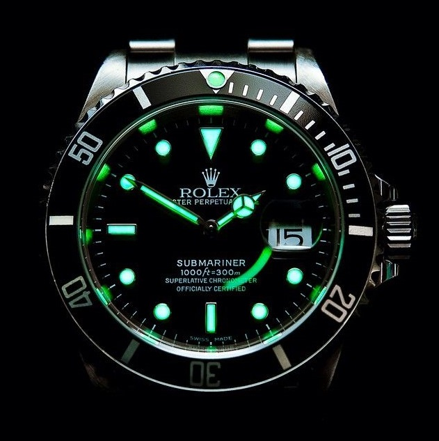 Replica Rolex Submariner Date night