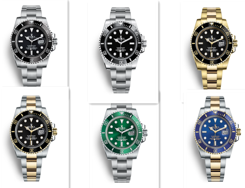 Replica Rolex Submariner Design