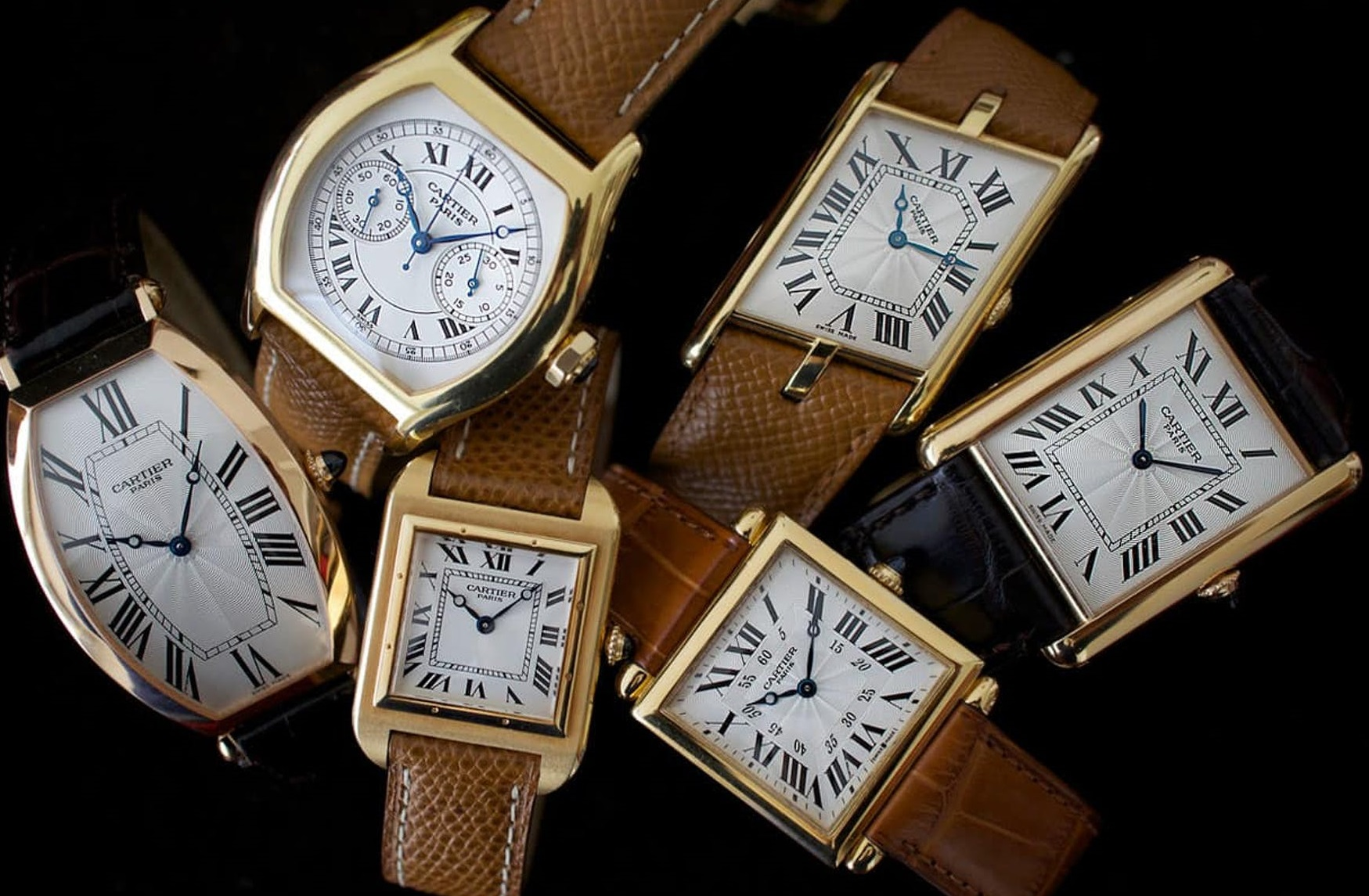 Replica Respectable Watches Cartier Design Style