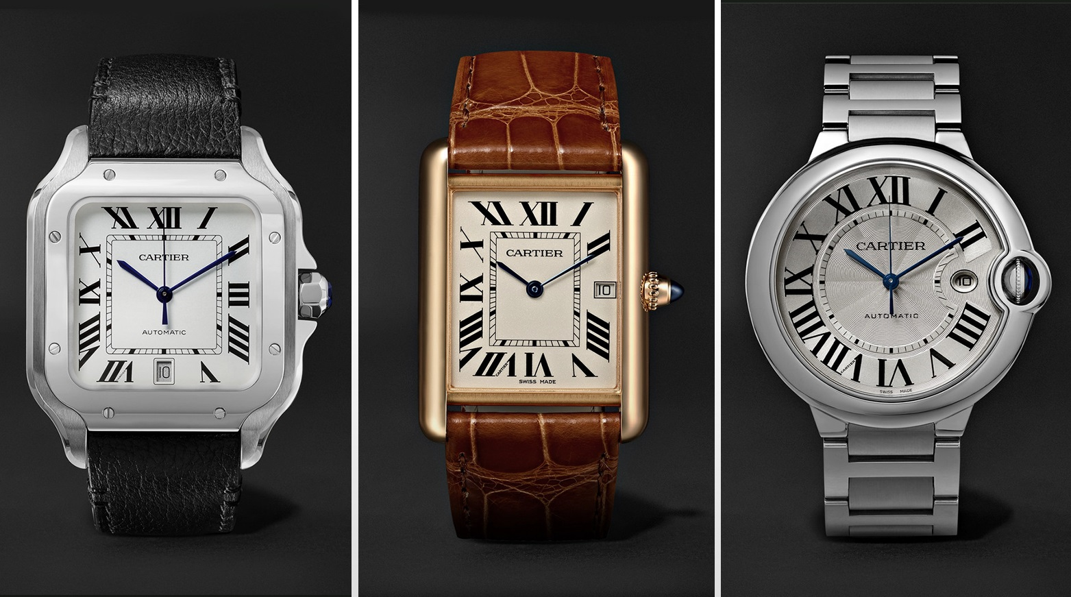 Replica Respectable Watches Cartier