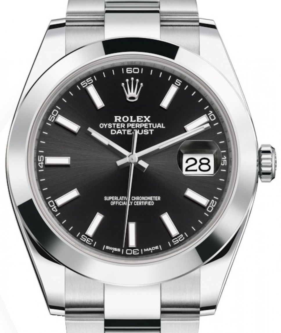 Two Replica Entry-level Rolex Watches Datejust 114300 40MM Dial Scale