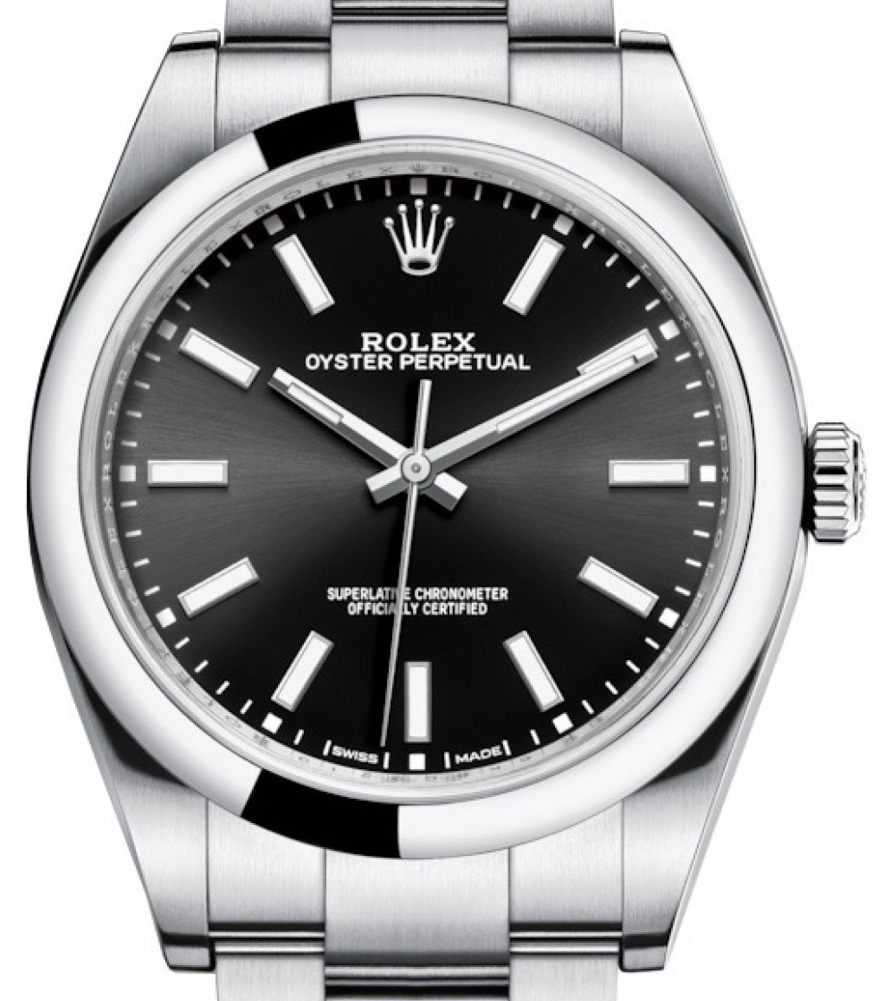 Two Replica Entry-level Rolex Watches Oyster Perpetual 126300 39MM Dial Scale