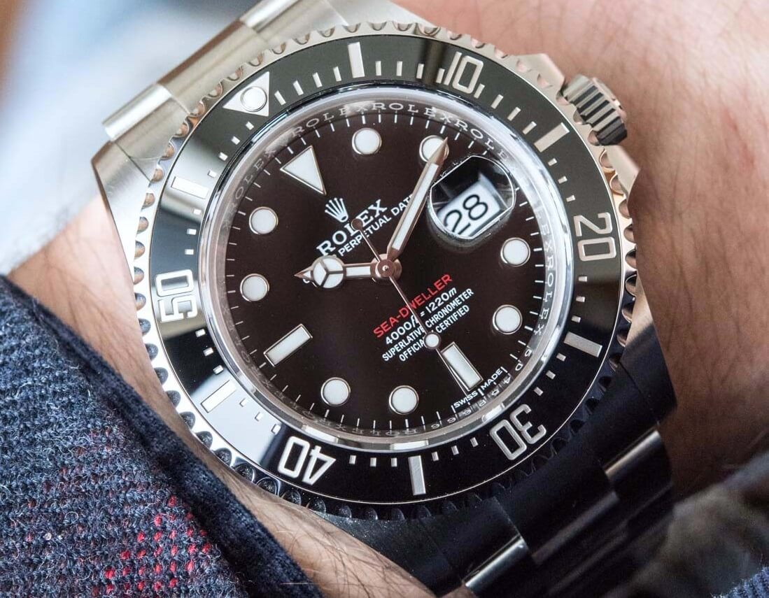 Rolex Sea-Dweller 126600 Replica