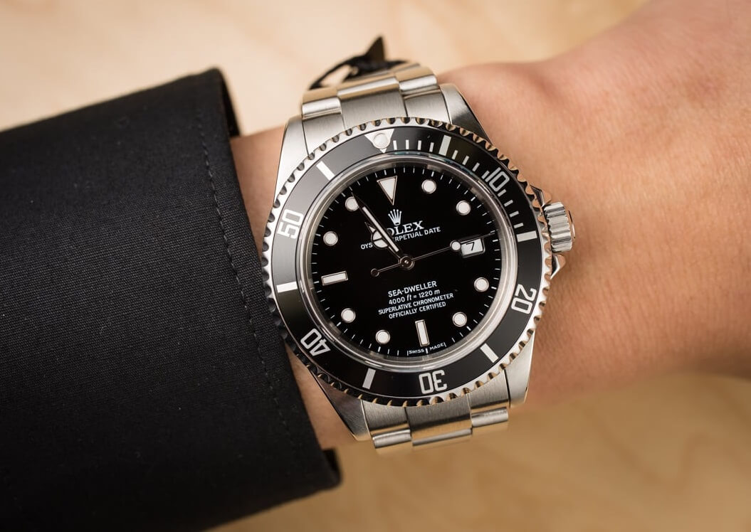 replica Rolex Sea-Dweller 16600