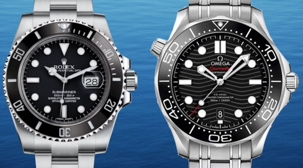Rolex Submariner VS Omega Seamaster 300M Which Replica watch is Better