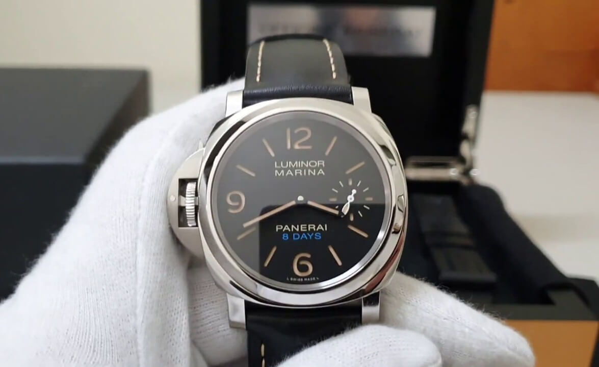 imitation Panerai Lumior PAM00796 left handed watches