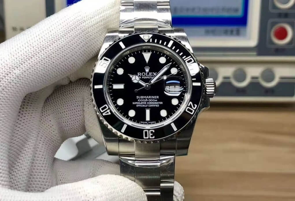 replica Rolex Submariner 116610LN watch
