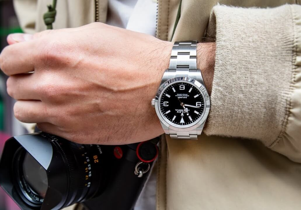 Fake Men's Watch Size Guide