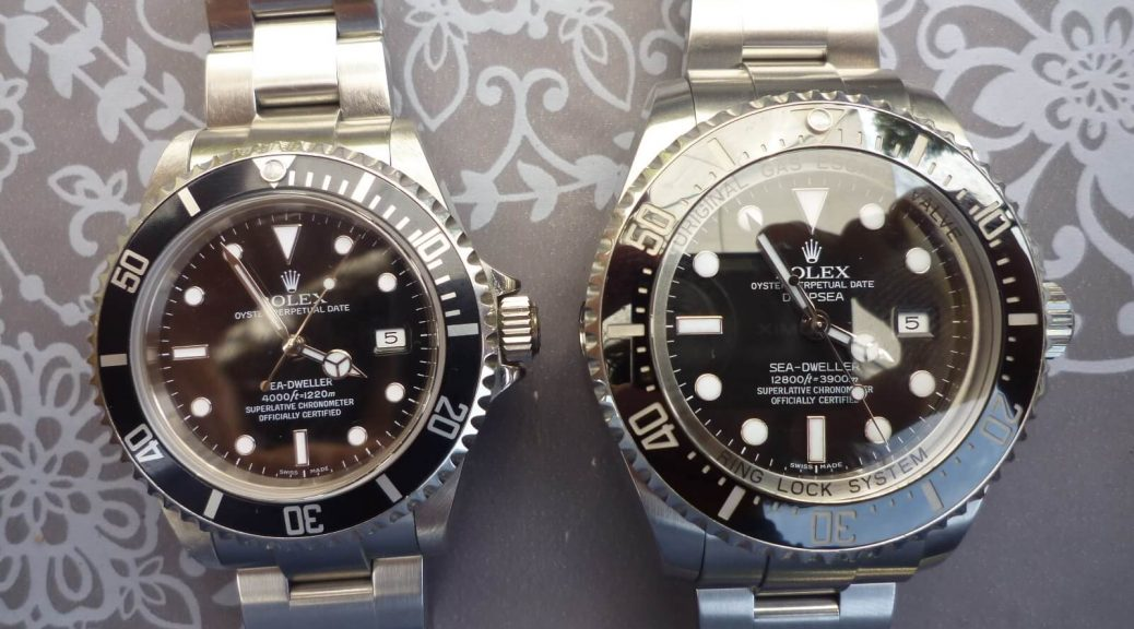 Rolex Fake Sea-Dweller 16600 VS Deepsea 116660