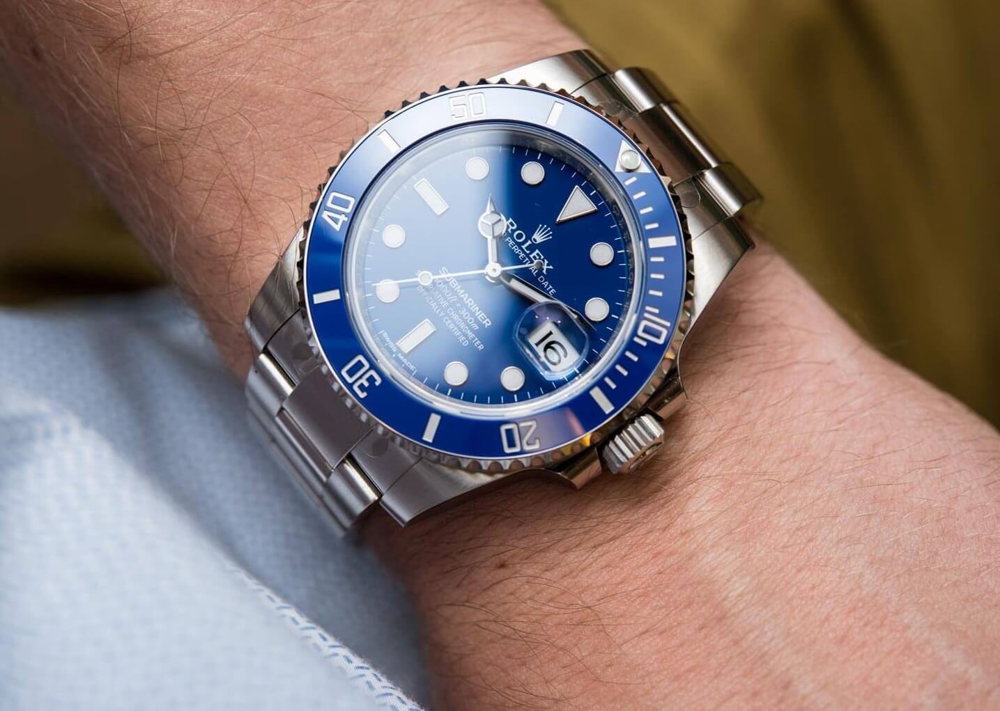 Fake Rolex Submariner 116619LB