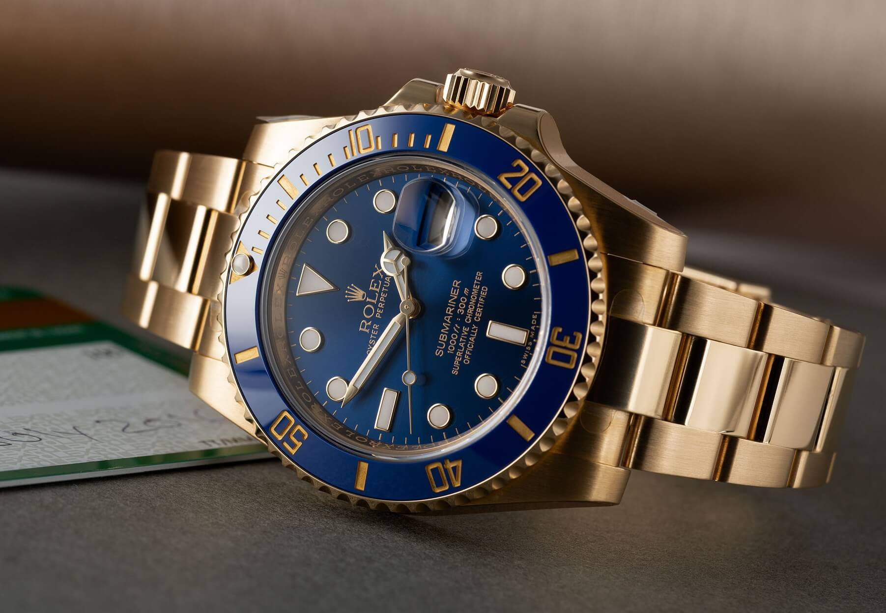 Rolex Submariner fake 116618LB