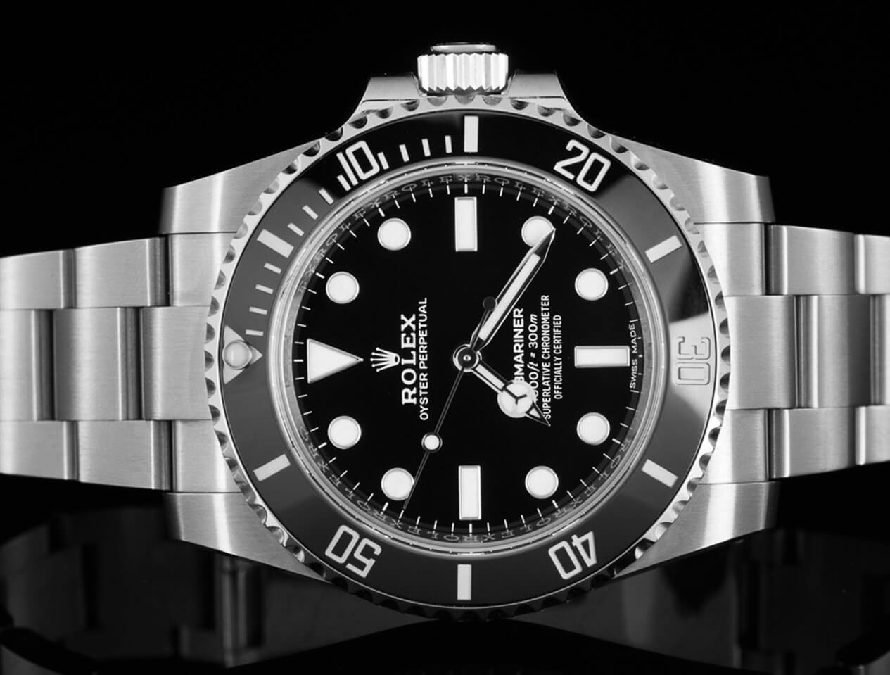Rolex Submariner replica No Date 114060