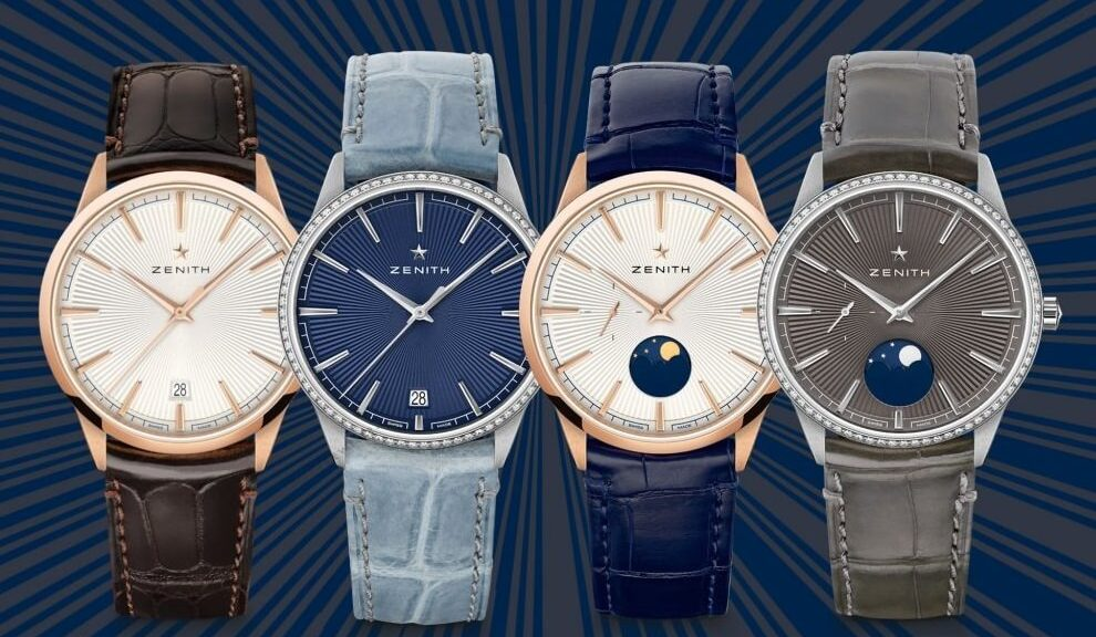 Fake Zenith ELITE Classic & Moonphase 2020 watches