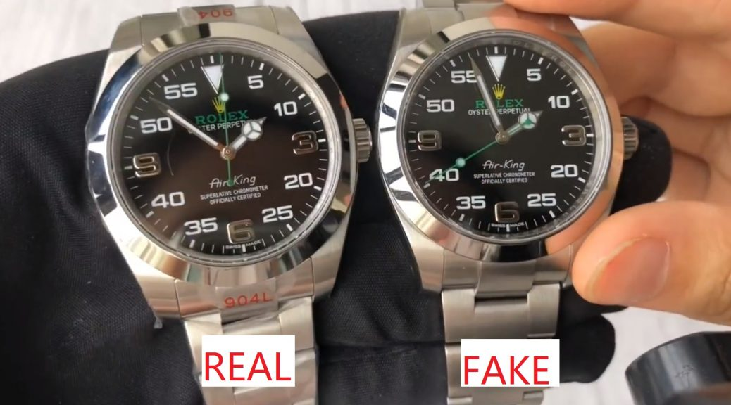 Rolex Air King 116900 Real VS Fake