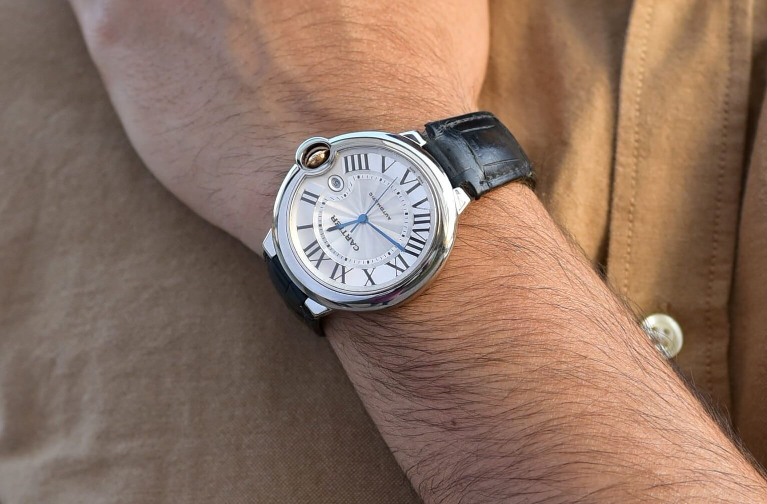 Replica Cartier Ballon Bleu W69016Z4