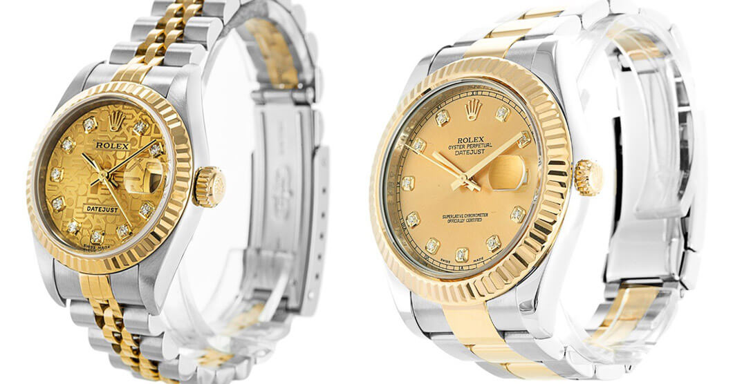 Replica Rolex Datejust 79173 vs Datejust II 116333
