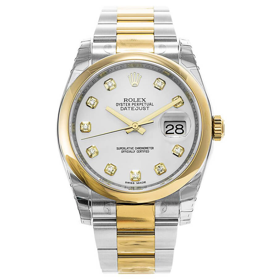 Automatic Replica Rolex Domed Bezel Datejust 116203